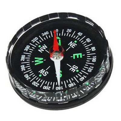 Mini Pocket Survival Liquid Filled Button Compass for Hiking Camping OutdooPL