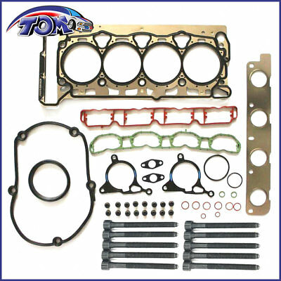 New Engine Cylinder Head Gasket & Bolts Set For Audi A3 A4 TT VW GTI Jetta
