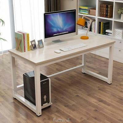 Wooden Metal Furniture Computer PC Desk Home Office WorkStation Writing Table