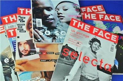 Bundle Of The Face Magazines Volumes 2 & 3 x9 Copies 2000-2001 Collectable