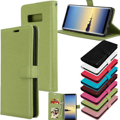 Leather Wallet Stand Flip Card Slot Phone Case Cover For Samsung Galaxy Note 8