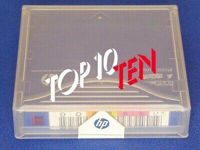 HP C7971A LTO-1 Datenkassette Gelabelt -Prelabelled Data Cartridge 100/200GB NEW