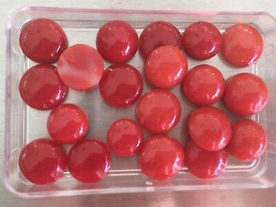 antique old stock natural red coral cabochons Others amber turquoise sale