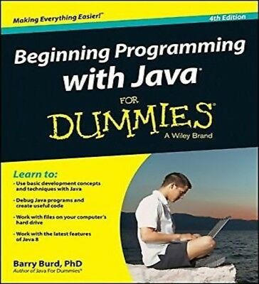 Beginning Programming with Java for Dummies 4th Edition PDF Read on PC/Phone