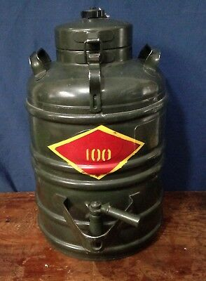Vietnam War Aervoid 3 Gallon Thermal Liquid Carrier 904, Marked with Mil. Tag