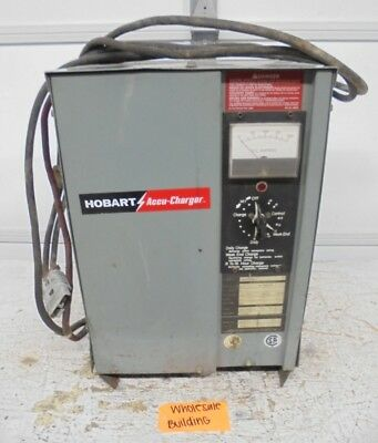 hobart brothers company 1r12 450 forklift battery charger 250 00 rh picclick com