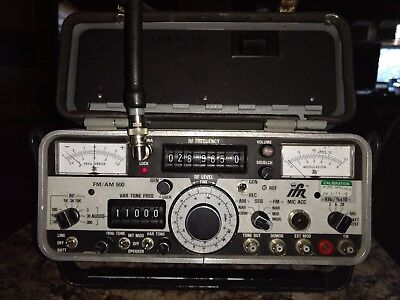 IFR AM/FM 500 Communications Monitor fully functional tested Ham Radio equip
