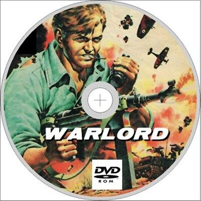 Warlord Comic 500+ Issues on 1 DVD Rom including Summer Specials