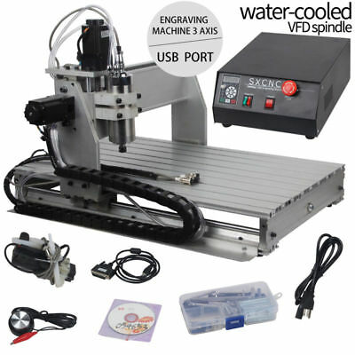 USB Port 3 Axis 6040 Engraver CNC Router 1.5KW Engraving Mill Drilling Machine