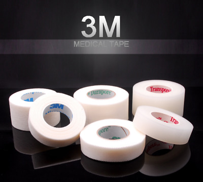 3M Hypoallergenic Micropore Transpore Durapore Tape Eyelash Extensions