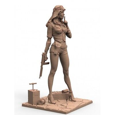 SAS Girl / FIGURE RESIN KIT / 75mm / Free Shipping Worldwide 75-077