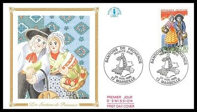 France (The Santons of provence) 1995 FDC (6)