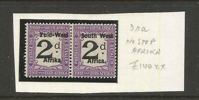 SOUTH WEST AFRICA 1923 2d OVERPRINT WITHOUT STOP. SG D11a. £300. MH.