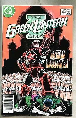 Green Lantern Corps #209-1987 fn+ Rocket Red Guy Gardner