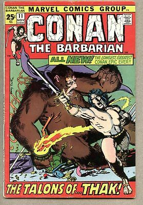 Conan The Barbarian #11-1971 fn Giant Size Barry Windsor-Smith