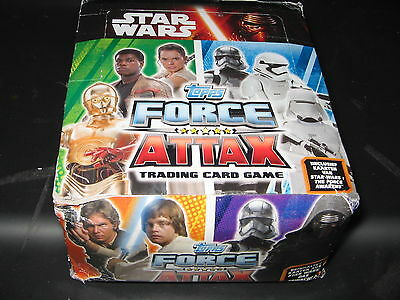 Star Wars Force Attax 1 Paket = 50 Booster - in der original Verpackung v. Topps