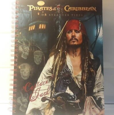 Pirates of the caribbean on stranger tides A4 note book