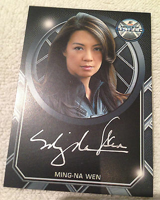 Agents of Shield Season 2 Archive Box Exclusive Autograph Card Ming-Na Wen