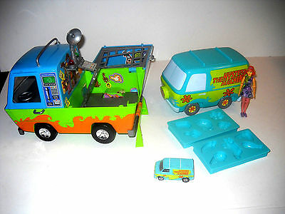Lot Of Scooby-Doo Mystery Machine Snack Thing Maker Ghost Patrol And Diecast