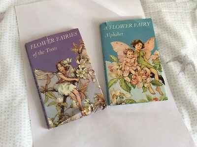 Two Fairy 📖 On Alphabet &trees By Cicely Mary Barker