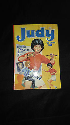 Judy For Girls 1985 Vintage Childrens Annual