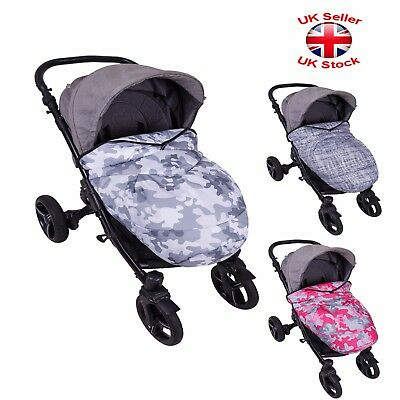 Universal Footmuff Cosytoes Apron Fit Buggy Pushchair Stroller Pram 3 Designs