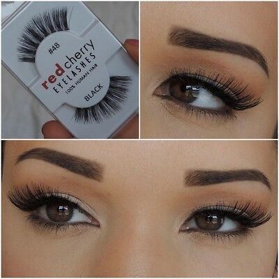 Faux Cils RED CHERRY 48 Neuf Envoi 24h