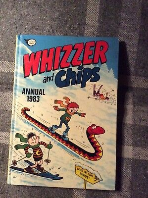 Five Whizzer and Chips Annuals 1980, 1981, 1983, 1991 & 1992
