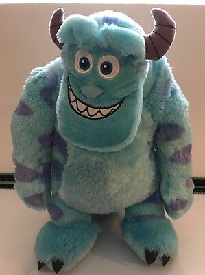 """Disney Pixar Monsters Inc / University Large 20"""" Sully Soft Plush Toy IMMACULATE"""
