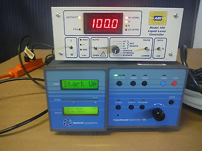 Oxford Crystream 700 Controller with AMI 186 Level Controller, Valve And Cables