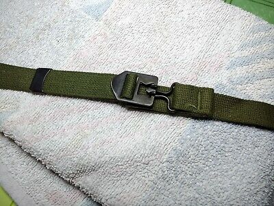 Genuine US Late WW2 M1 Helmet Chinstrap OD#7 webbing unissued, mint.