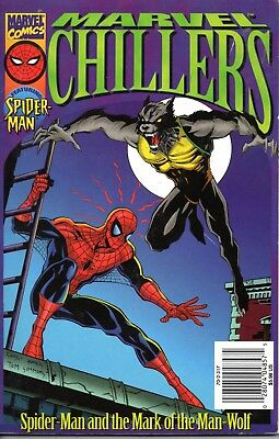 Marvel Comics - MARVEL CHILLERS - SPIDER-MAN AND THE MARK OF THE MAN-WOLF, 1996