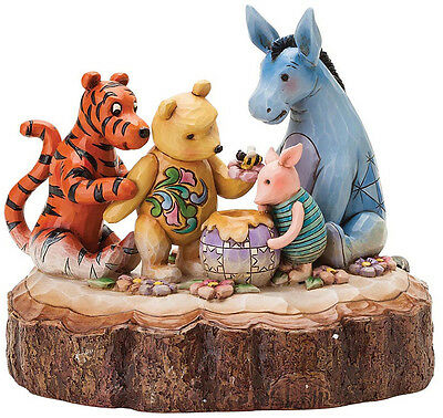 """Winnie the Pooh & Friends """"You, Me, and a Hunny Bee"""" ENESCO 4037502 Jim Shore"""