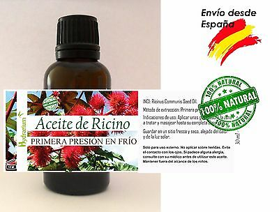 Aceite de Ricino virgen, 30 ml. Virgin Castor Oil 1 fl.oz