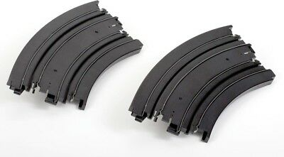 NEW AFX AFX 9Inch 1/8 Curve Track (Pr) from Mr Toys