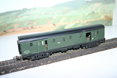 Ho Wagon Voiture Hornby Acho Fourgon Sncf A Bogies