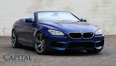 "2013 BMW M6 M6 Convertible Executive Pkg Full Leather 20"" Wheels B&O Audio! Like Porsche 911 Coupe SL63 AMG"