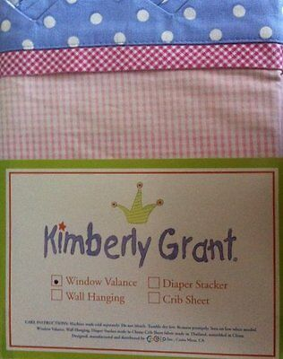 CoCaLo Kimberly Grant Wish Play Dance Window Valance - New!
