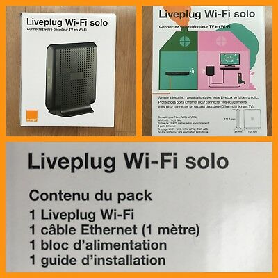 CPL Live Plug Wifi Solo Orange