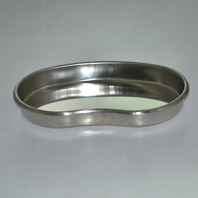 Half Round Edges Kidney Bowl Tray Dental Curved Shape Dish Basin Stainless Steel