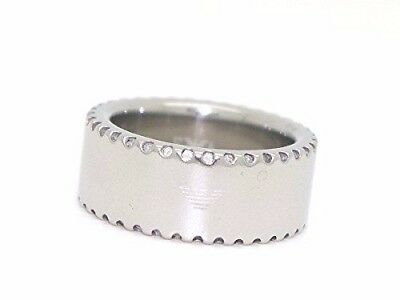 8c731b33edfdc EMPORIO ARMANI EGS2078040 Men s Sterling Silver Ring Size.uk-T-1 2 ...
