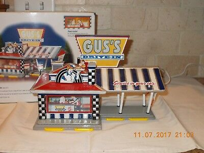 """Dept. 56 Snow Village - """" Gus's Drive-In """" - #55067 - Building Only"""