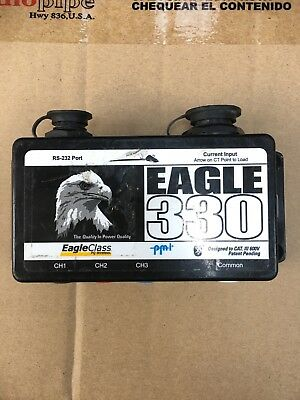 PMI Eagle 330 Power Quality Recorder **Read Description** No Cables Included