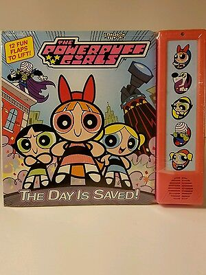 Original The Powerpuff Girls the Day is Saved Interactive Book