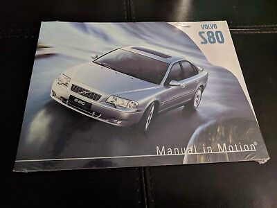 2004 Volvo S80 Manual In Motion Promotion CD-ROMVolvo for life