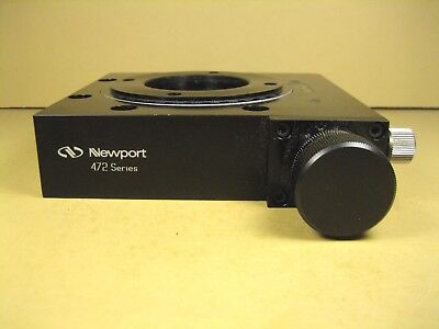 Newport  472  Precision Rotation Stage  Missing Top Plate