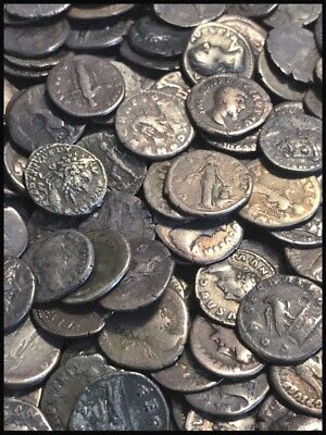 Genuine Ancient Roman Silver Coins Denarius