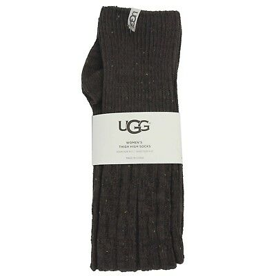 NEW UGG Womens Slouchy Speckle Thigh High Socks Demitasse Sizes 5-10 MSRP $39.50