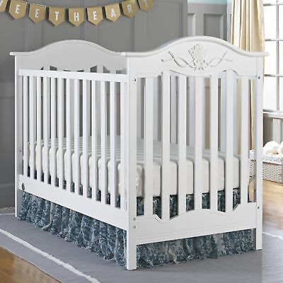 Handcrafted 3-in-1Convertible Crib