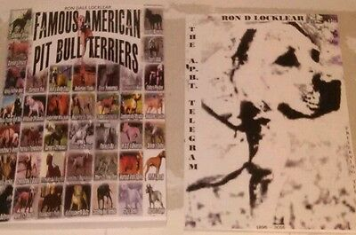 SALE! SALE! Famous American Pit Bull Terriers & The A.P.B.T. Telegram Books